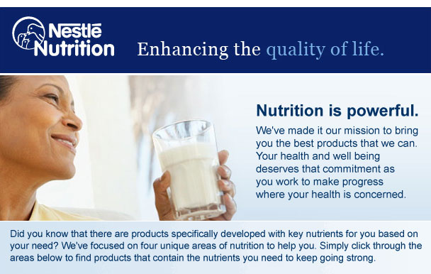 Nestle Nutritionals