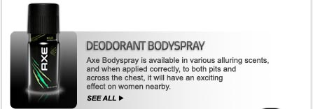deodorant bodyspray