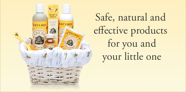 Safe, natural and effective products for you and your little one