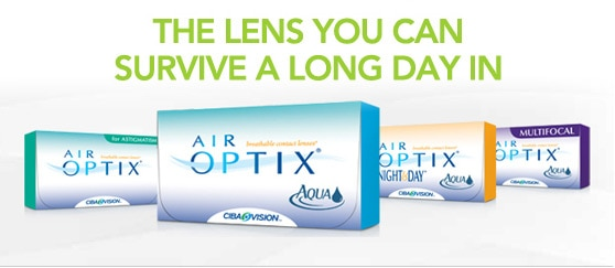 Air Optix is the lens you can survive a long day in!