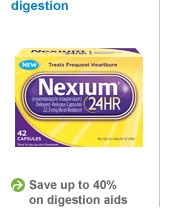 save up to 40% on digestive aids