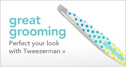 perfect your look with Tweezerman