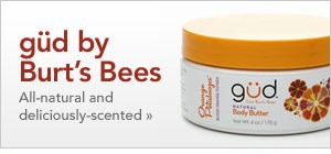 shop gud by Burts Bees