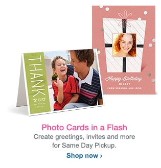 Photo Cards in a Flash