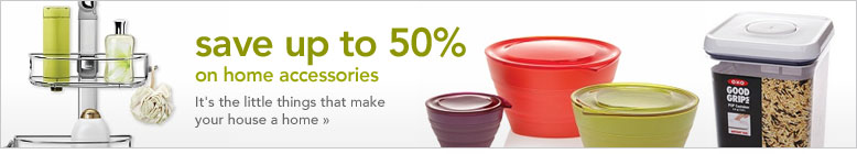 save up to 50% on home accessories