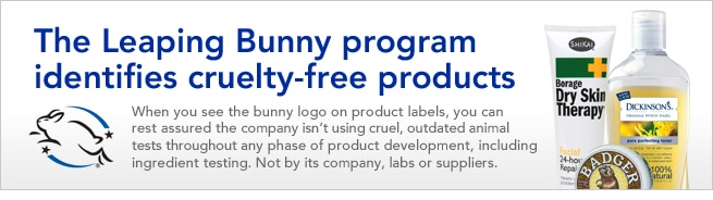 the Leaping Bunny program identifies cruelty free products