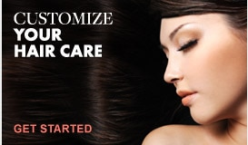 Customize your hair care