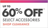 Shop accessories clearance