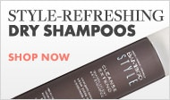 Style-refreshing dry shampoo