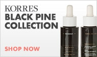 Shop the Korres Black Pine Collection