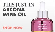 Just In! Arcona Wine Oil