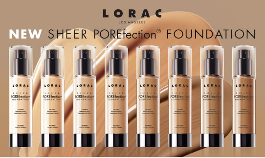 Lorac Sheer POREfection Foundation