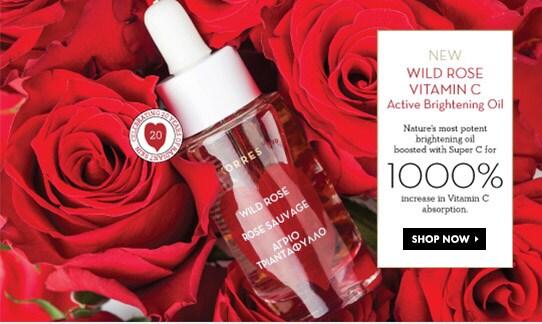 Shop for Korres Wild Rose Vitamin C Active Brightening Oil
