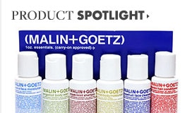 Malin+Goetz Product Spotlight
