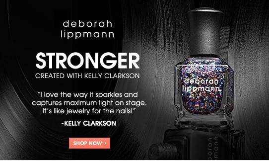 Deborah Lippmann Nail Color, Stronger, created with Kelly Clarkson