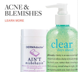 Beauty solutions - Acne and Blemishes Solutions