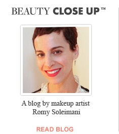 Beauty Close Up-a blog by makeup artist Romy Soleimani