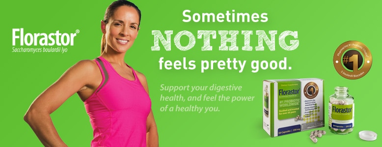 Florastor - Support your digestive health, and feel the power of a healthy you