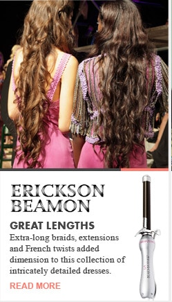 Erickson Beamon Great Lengths Runway Recap Spring 2013