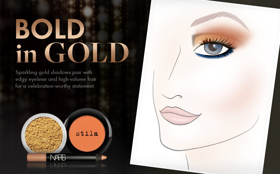 Holiday 2012 Trend - Bold in Gold