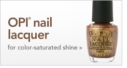 OPI nail lacquer for color-saturated shine