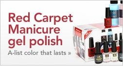 Red Carpet Manicure gel polish - A-list color that lasts