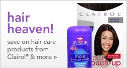 Save on hair care products from Clairol and more