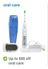 up to $50 off oral care