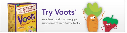 Voots all-natural fruit-veggie supplement