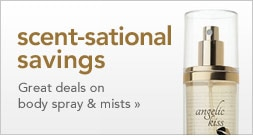 scent-sational savings great deals on body spray & mists