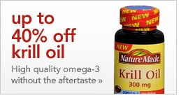 up to 40% off krill oil high quality omega-3 without the aftertaste