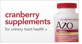 cranberry supplements for urinary tract health