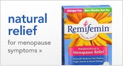 natural relief for menopause symptoms