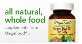 all natural, whole food supplements from MegaFood