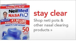 Shop neti pots & other nasal clearing products