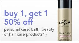 Save on personal care, bath, beauty or hair care products | offer ends Saturday 8/27