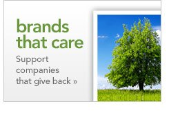 brands that care support companies that give back