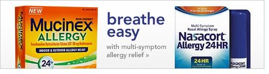 breathe easy with multi-symptom allergy relief
