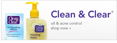 Clean & Clear oil and acne control