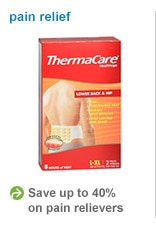 save up to 40% on pain relievers