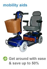 save up to 50% on mobility aids