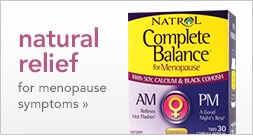 relief for menopause symptoms