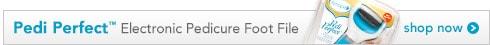 Pedi Perfect Electronic Pedicure Foot File, shop now
