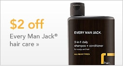 $2 off Every Man Jack hair care