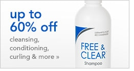 save up to 60% on cleansing, conditioning, curling