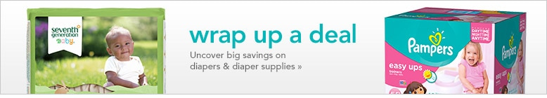 diapers and supplies