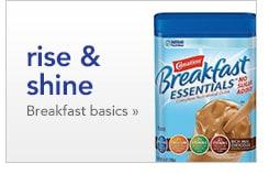 rise and shine, breakfast basics