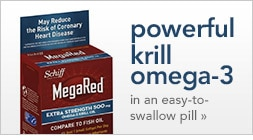 powerful krill omega-3 in an easy-to-swallow-pill