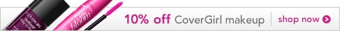 new and innovative, 10% off CoverGirl makeup, shop now