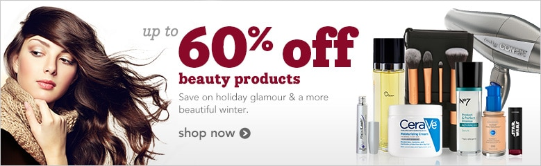 save on holiday glamour and a more beautiful winter, shop now